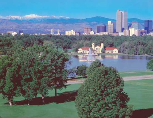 Denver\'s City Park, the proposed site of Tent State University\'s demonstration (and yes, I do realize how lucky I am)