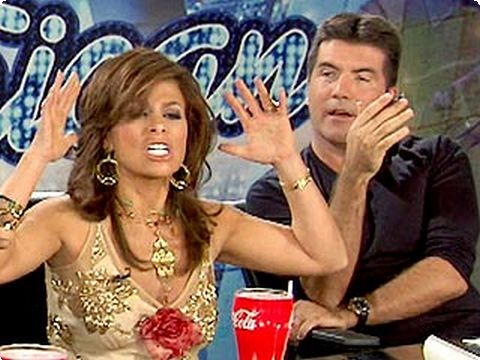 Simon Cowell and Paula Abdul on American Idol1_preview