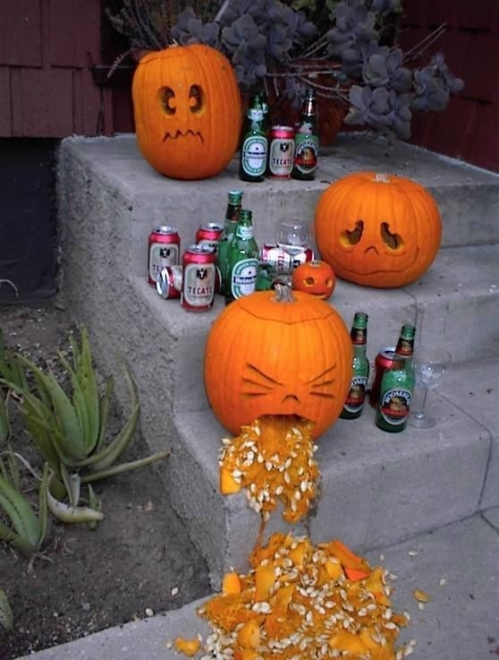 hungover pumpkins